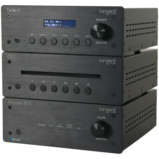 Tangent Ampster II Hi-Fi torony : erősítő + Cd + tuner
