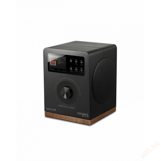 Tangent Spectrum DAB+/FM/BT rádió és Bluetooth hangszóró fekete
