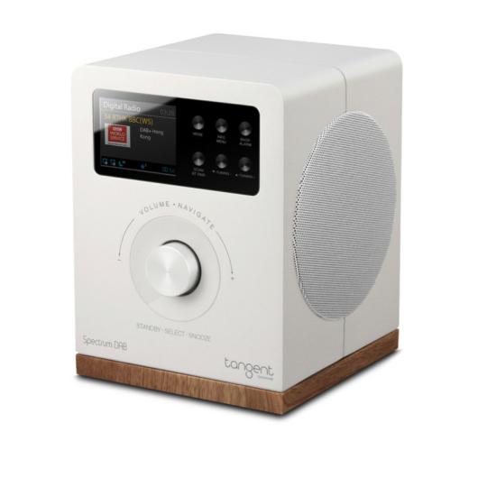 Tangent Spectrum DAB+/FM/BT rádió és Bluetooth hangszóró fehér