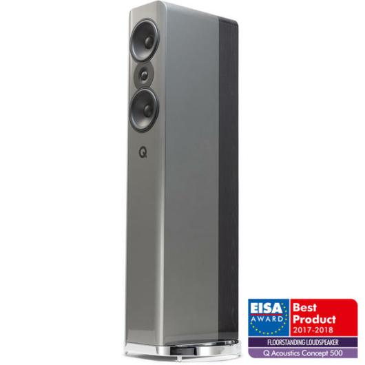 Q Acoustics CONCEPT 500 SILVER & EBONY