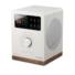 Kép 1/4 - Tangent Spectrum DAB+/FM/BT rádió és Bluetooth hangszóró fehér